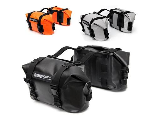 bmw dry spec maletas laterales 20lt todo tipo de moto