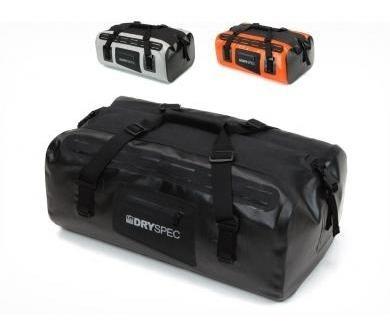 bmw dryspec maleta trasera impermeable naranja 38 lts