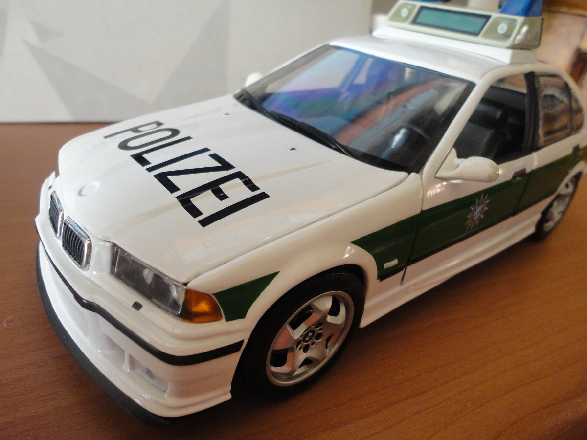 bmw e36 m3 police car ut models 1 18 3 en. Black Bedroom Furniture Sets. Home Design Ideas
