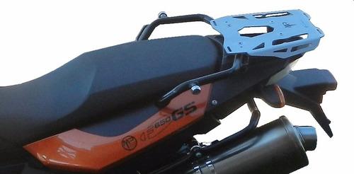 bmw f 650 700 800 gs placa porta equipajes motoperimetro ®