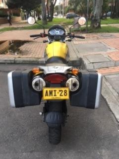 bmw f 650 gs amarilla y gris 2003