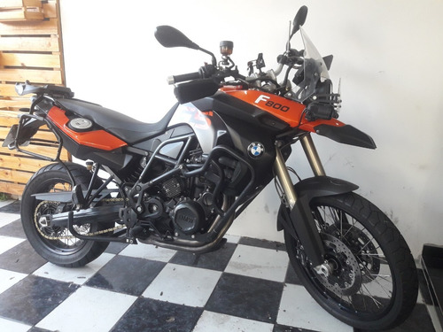 bmw f 800gs 2012 laranja tebi motos
