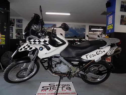 bmw f650 dakar blanca 2001