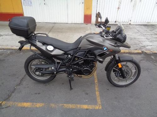 bmw f700 gs top case 2013  original  nueva