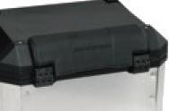 bmw f700gs kit top case nergo c/respaldo moto con top rack