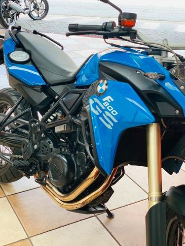 bmw f800 gs - 2014 - azul - financiamos - km 31.000