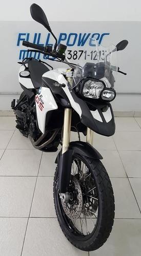 bmw f800 gs branca 2014  com abs