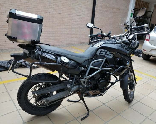 bmw f800 gs triple black 2012