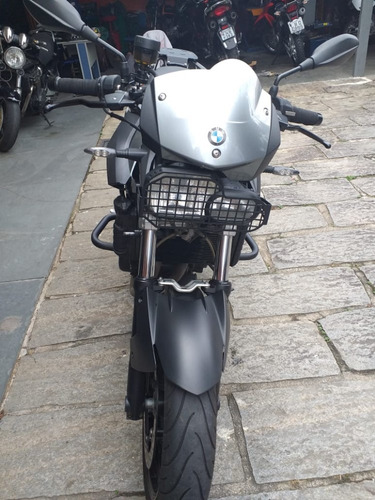 bmw f800 r cinza 2012