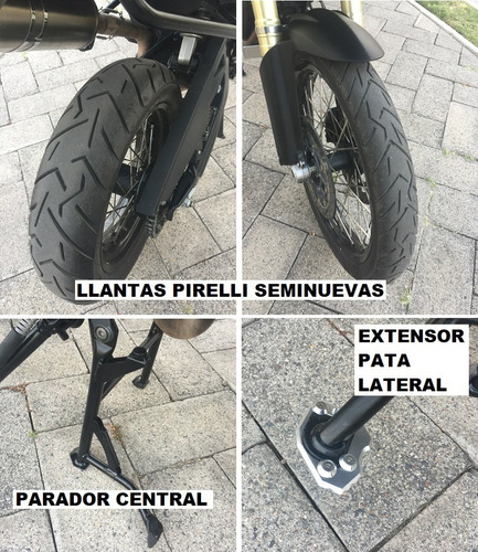 bmw f800gs f 800 gs 2016 doble proposito triple black