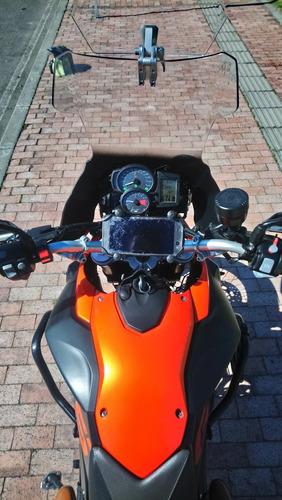 bmw f800gs naranja lava metalizada