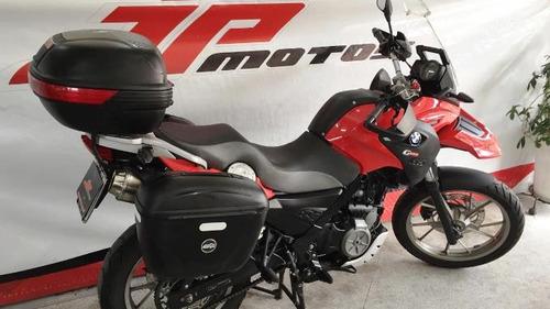 bmw g 650 gs 2011 vermelha