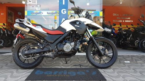 bmw g 650 gs 2012 branca impecável