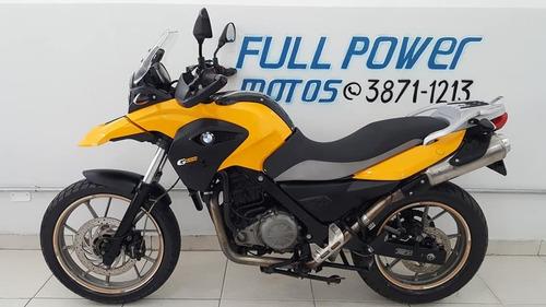 bmw g 650 gs amarelo 2014