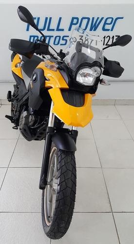 bmw g 650 gs amarelo 2014/14