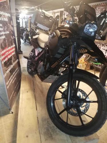 bmw g 650gs negra the rider spot