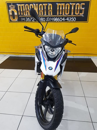 bmw g310 gs - 2018 - branca - km 6.000