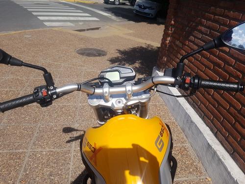 bmw g650x country gs  amarilla permuto financio qr motors.