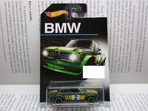 bmw good year escala 1/64 coleccion hot wheels r52b