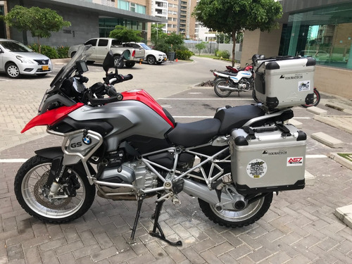 bmw gs 1200 r rojo racing