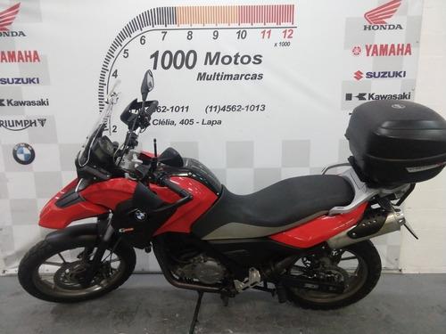 bmw gs 650 2012 otimo estado aceito moto