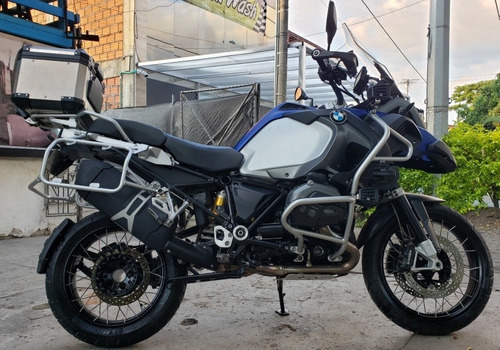 bmw gs1200 k51 con quickshifter original bmw,akrapovik,gps..