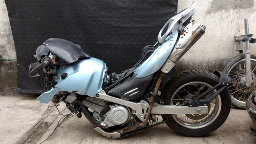 bmw gs650 gs 650 2007 chocada accidentada por partes yonke