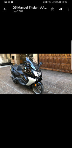 bmw gt 650 2.017 950 km reales scooter única mano