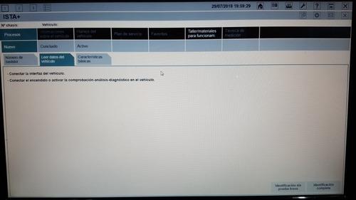bmw ista d ista p 2019 ultima version español solo software