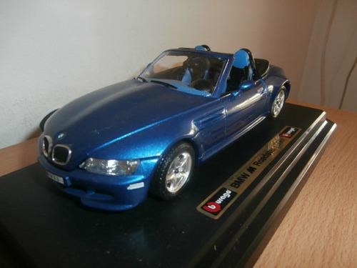 bmw m roadster 1996 burago escala: 1:24