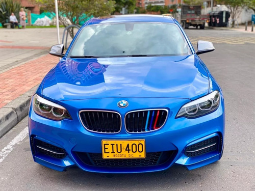 bmw m240i estoril blue