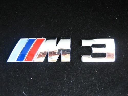 bmw m3 emblema o logo maletero serie 3 e36 e46 e90 f20