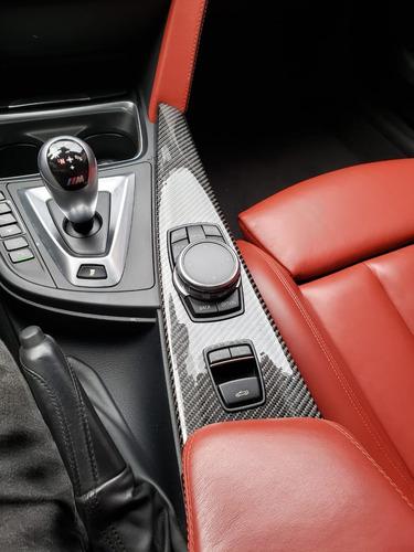 bmw m4 cabriolet 2015 interior vermelho