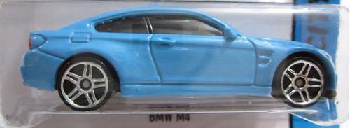 bmw m4 coleccion escala miniatura 7cm hot wheels
