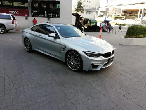 bmw m4 coupe 2018 plata