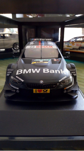 bmw m4 dtm 1/18 dealer edition auto a escala regalo navidad