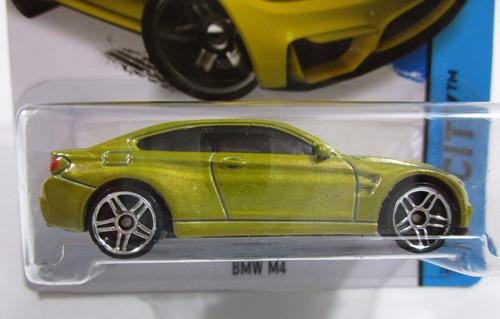 bmw m4 escala 7cm largo coleccion hot wheels 1/64