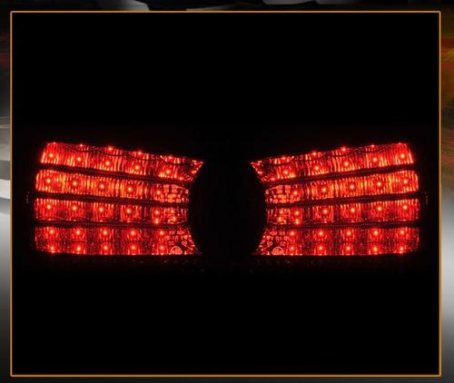bmw m5 2006 - 2007 juego de calaveras tipo led lente roj ahu