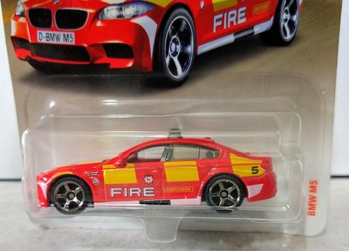 bmw m5 fire dept. hot wheels