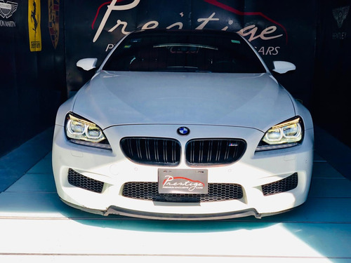 bmw m6 coupe 4.4t 560 hp año:2014