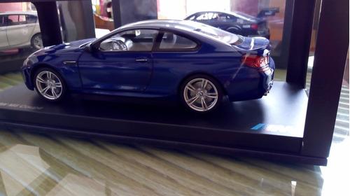 bmw m6 f13 1/18 dealer edition auto a escala