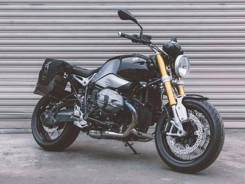 bmw nine t kit maletas laterales sw motech legend 10lt moto