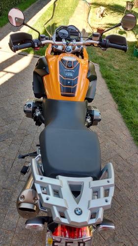 bmw r 1200 gs 2009, laranja com 12100 km raridade
