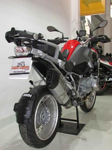 bmw - r 1200 gs- 2016 vermelha