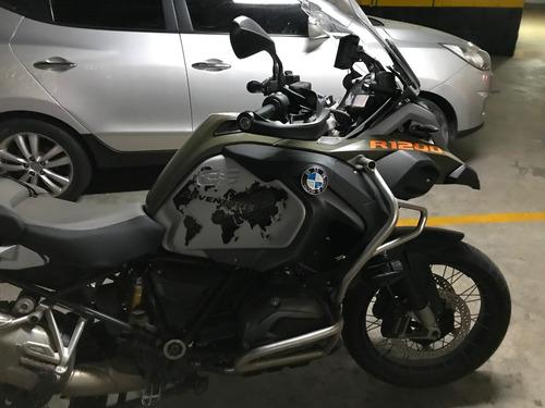 bmw r 1200 gs adventure - 2015 - verde