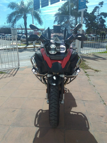 bmw r 1200 gs adventure !! incluye gps nav .6  y top case