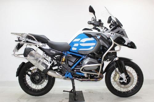 bmw r 1200 gs adventure rallye 2018 azul
