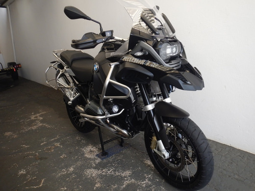 bmw r 1200 gs adventure triple black - painel tft !