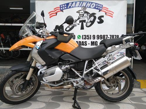 bmw r 1200 gs sport 2009 laranja novíssima!!!