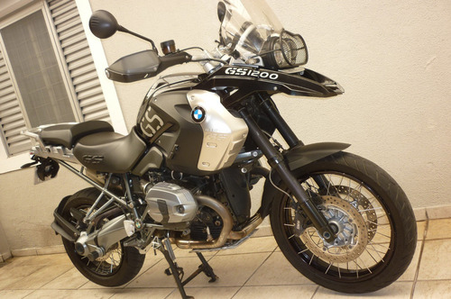 bmw r 1200 gs triple black - roda brasil - campinas